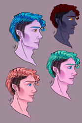 Character reference colour pallet 01 by StrawberryGlasses