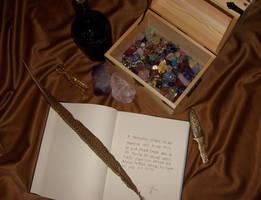 Spell Book by Somnium-Draco