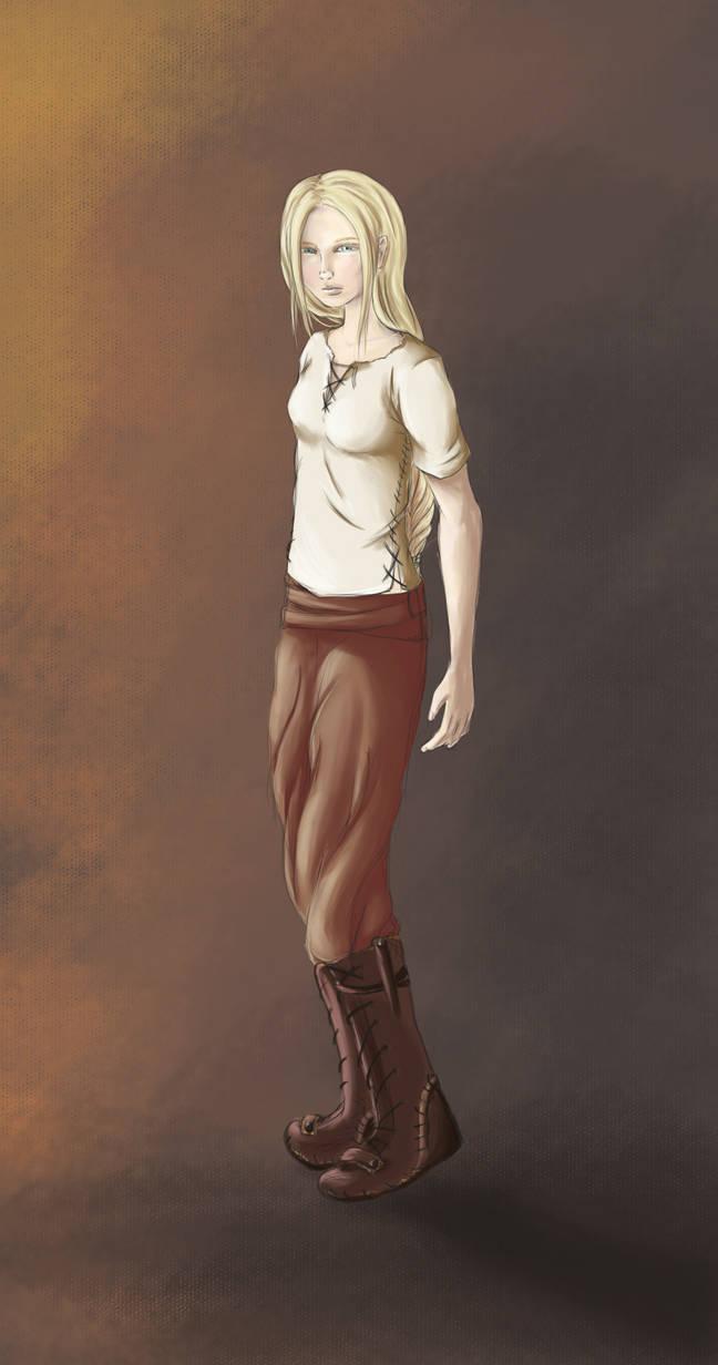 Character Concept - Niviarsiaq by kaomau