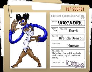 Waxwork Oc Profile by Xailenrath-Universe