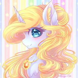 Pony Portrait [Commission] by ShimayaEiko