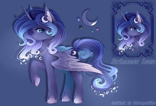 Luna [Redesign Commission] by ShimayaEiko