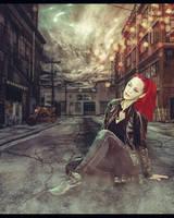 Deserted city by Mahhona