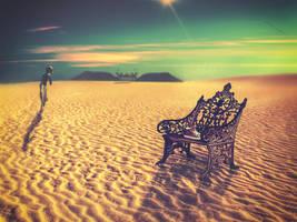 Walk-in-the-desert by Mahhona