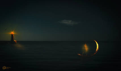 Lost in sea by Mahhona