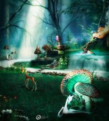 Mushroom Life by Mahhona
