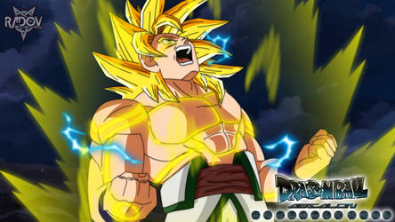 Goku Celestial Dragon God by Radov by RadovAnimation