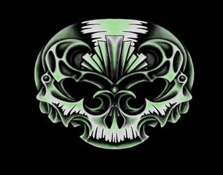Decorative Skull by kayden7