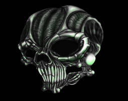 Mech Skull by kayden7