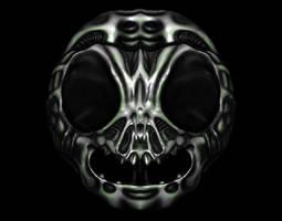 Z Brush Skull by kayden7