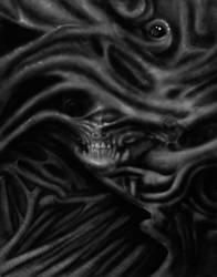 Organic Biomechanical Skull by kayden7