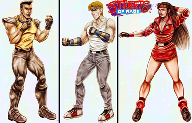Streets of Rage by BlackExcell