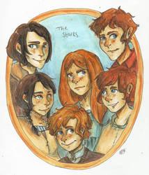 Stark Siblings. by pokings