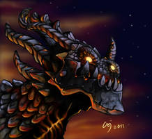 Deathwing by MonCsika