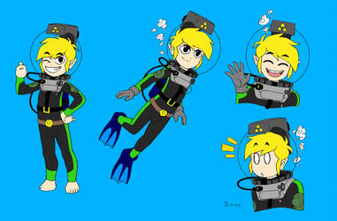 Toon Link LAMA Concept Sheet Colored by MrGerudoMan