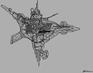 Sky Ship by JobyMN