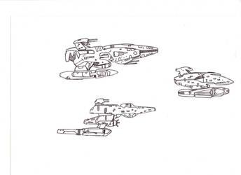 Star Ships - NX Series 3 by JobyMN