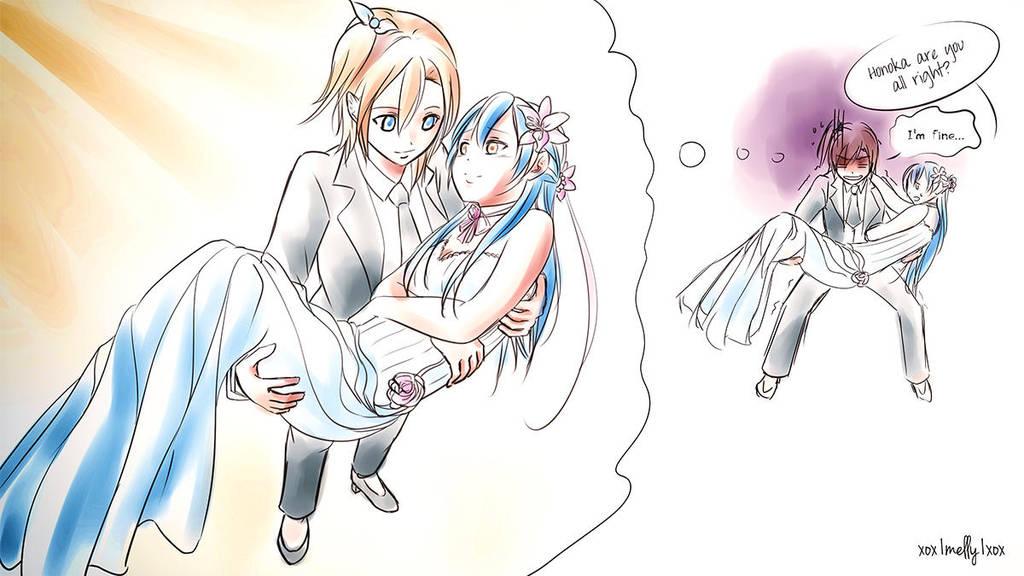 Honoumi Bridal Carry By Xox1melly1xox On Deviantart