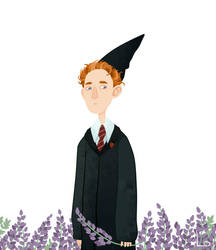 Percy Weasley by paranoiac-lo