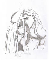 Tarzan and Jane by Silraen