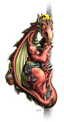 Dragon Janes by yolkum