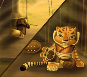 Tigress cub give me you love by Rocio-Aj