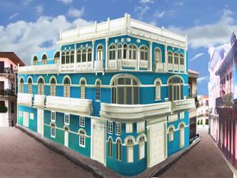 casa casco antiguo Panama by Rocio-Aj