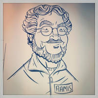 Harold Ramis by stayte-of-the-art