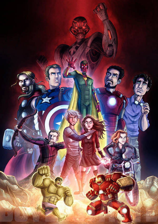 Avengers Age Of Ultron By Iloegbunam On Deviantart: Avengers Age Of Ultron By Stayte-of-the-art On DeviantArt