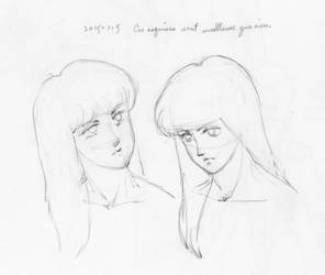Study of Two Heads by L-Lokakuu