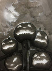Five Little Pumpkins by sarahfinnigan