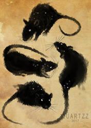 Smokey Mischief by Quartzzy