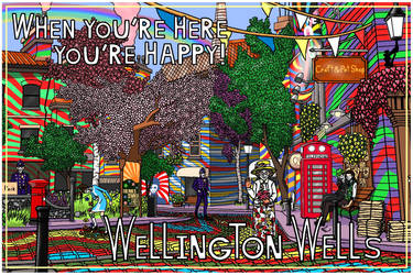 We Happy Few Wellington Wells Postcard Contest by RachelNealesArt
