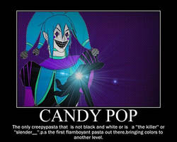 Candy Pop Motivational #3 by GrimaceJester