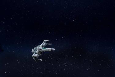 Two Dollar X-Wing by orudorumagi11