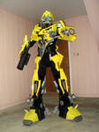 Upgraded Transformers Costume by orudorumagi11