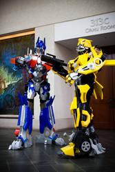 New Transformers Costume by orudorumagi11