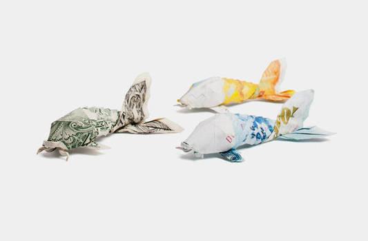 One Dollar Koi for PSG by orudorumagi11