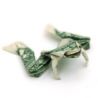 One Dollar Frog by orudorumagi11