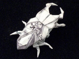 One Dollar Stag Beetle by orudorumagi11