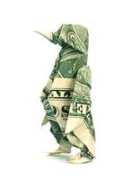 One dollar Penguin by orudorumagi11