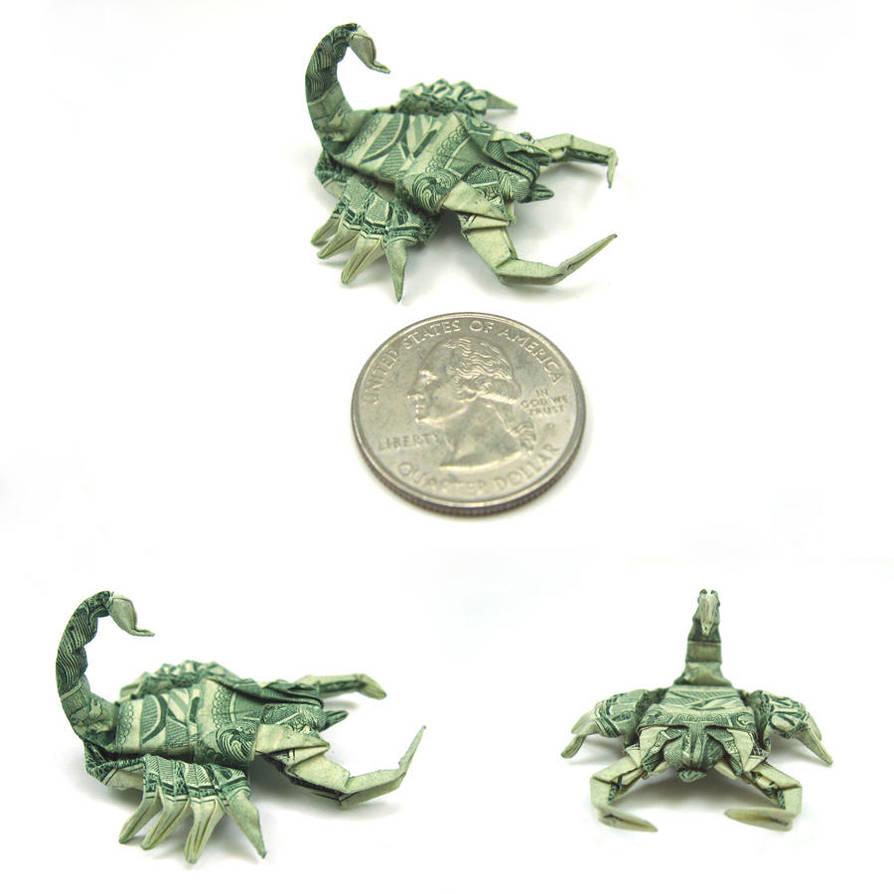 New pics. Dollar Scorpion by orudorumagi11