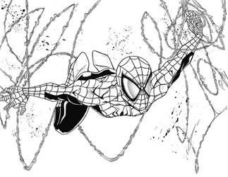 Spider's Falling by ELOart