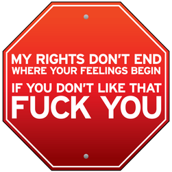 My Rights and Your Feelings by brentcherry