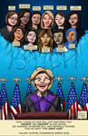 Election 2016 - Hillary and the Glass Ceiling by brentcherry