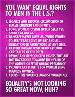 How American Women Can Be Equal by brentcherry