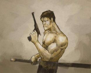 gun guy by zerk