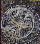 Sketchbook cover o5 by Blackmane