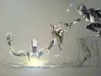 The sacrifice. by Hygrophila