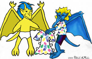 June 2008:Gargoyle Paper Dolls by ekkapinto-MGC